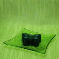 Svíčka - motýlek zelený
