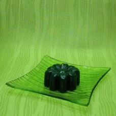 Svíčka - kytička zelená