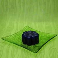 Svíčka - kytička modrá
