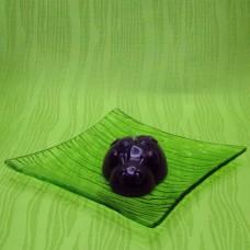 Svíčka - beruška fialová