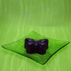 Svíčka - motýlek fialový