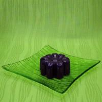 Svíčka - kytička fialová
