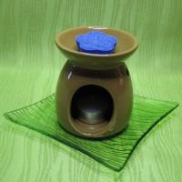 Dárková krabička (aromavosk) - kytička modrá