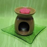 Dárková krabička (aromavosk) - kytička červená