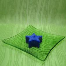 Svíčka - hvězdička modrá