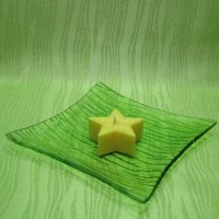 Svíčka - hvězdička žlutá