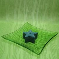 Svíčka - hvězdička zelená
