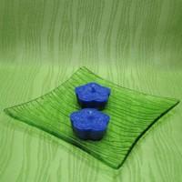 Svíčky - kytičky modré