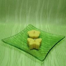 Svíčky - motýlek a kytička žlutí
