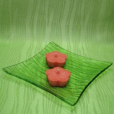 Svíčky - kytičky oranžové