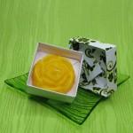 Dárková krabička (svíčka) - růže žlutá