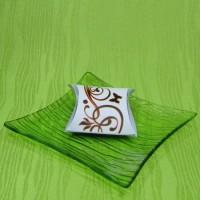 Dárková krabička (aromavosk) - kytička oranžová