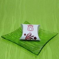 Dárková krabička (aromavosk) - srdíčko červené