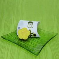 Dárková krabička (aromavosk) - kytička žlutá