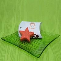 Dárková krabička (aromavosk) - hvězdička oranžová