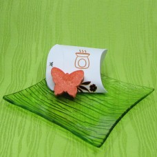 Dárková krabička (aromavosk) - motýlek oranžový