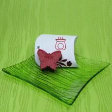 Dárková krabička (aromavosk) - motýlek červený
