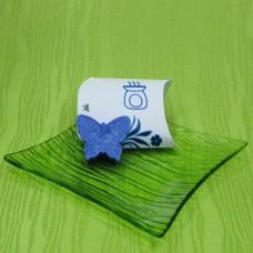 Dárková krabička (aromavosk) - motýlek modrý