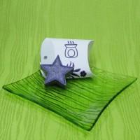Dárková krabička (aromavosk) - hvězdička fialová