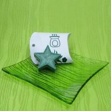 Dárková krabička (aromavosk) - hvězdička zelená