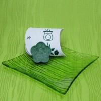 Dárková krabička (aromavosk) - kytička zelená