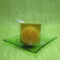 Svíčka - růže žlutá