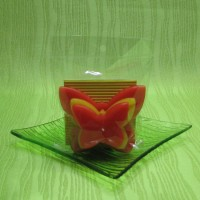 Svíčka - motýl žlutooranžový
