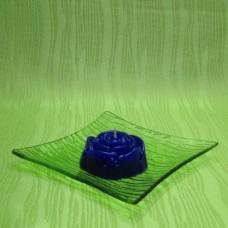 Svíčka - růže modrá