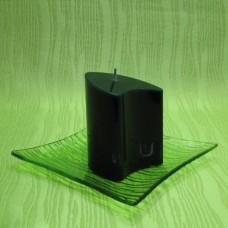 Svíčka - dvojoblouk zelený