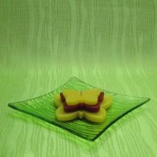 Svíčka - motýl žlutočervený