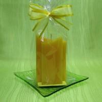 Svíčka - dvojhrot žlutý