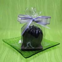 Svíčka - spirálová koule fialová