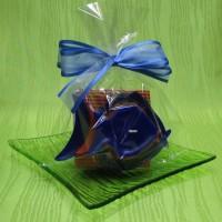 Svíčka - ryba oranžovomodrá