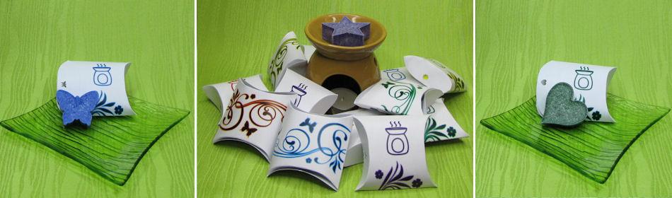 Dárkové krabičky s aromavosky